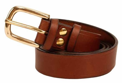 Crispin Bending, Handmade Leather Belts