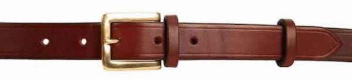 1 inch Australian Nut Oak Bark Bridle Leather Belt