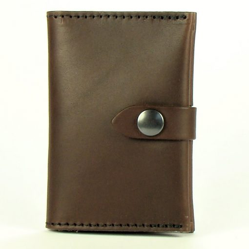 Credit Card Wallet with Press Stud