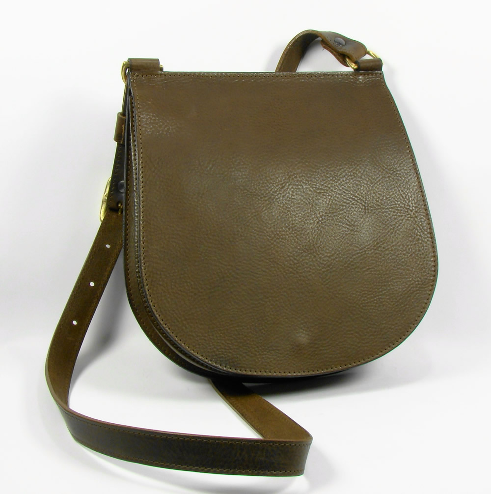 The Saddle Bag - Handmade Leather Bag by Crispin Bending e67b16ef63a7b