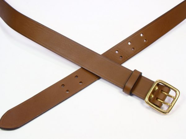 "Sam Browne Belt - 1.25"" - brown"