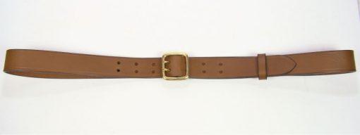 """Sam Browne Belt - 1.25"""" - brown"""