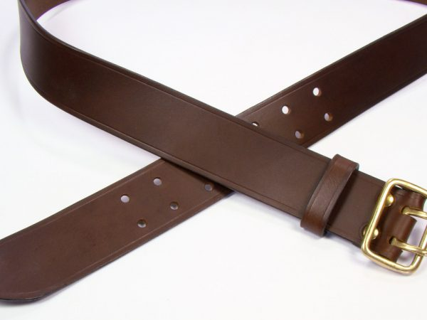 "Sam Browne Belt - 1.75"" - brown"