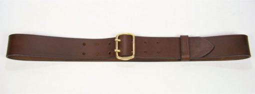"""Sam Browne Belt - 1.75"""" - brown"""
