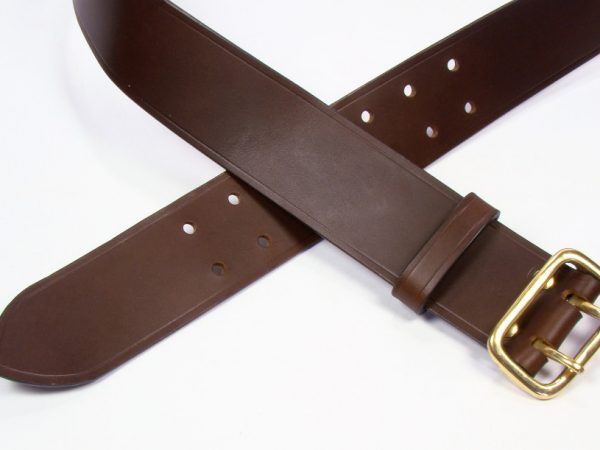 "Sam Browne Belt - 2"" - brown"