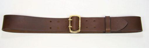"""Sam Browne Belt - 2"""" - brown"""