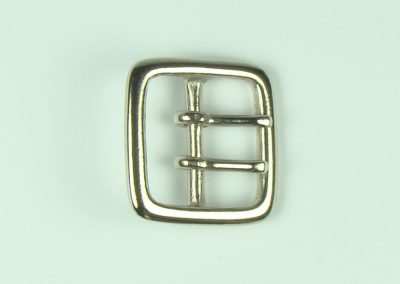 "Nickel - 1.25"" Belt Buckle"