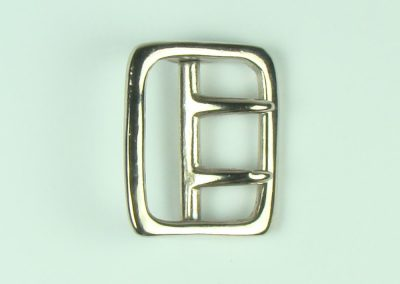 "Nickel - 1.5"" Belt Buckle"
