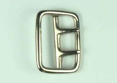 """Nickel - 1.75"""" Belt Buckle"""