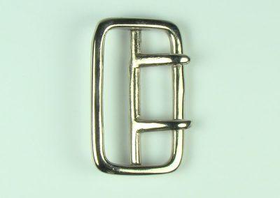 """Nickel - 2"""" Belt Buckle"""