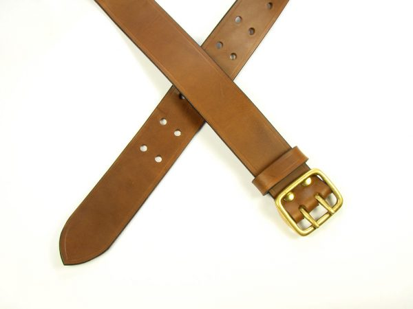 "Sam Browne Belt - 1.5"" - brown"